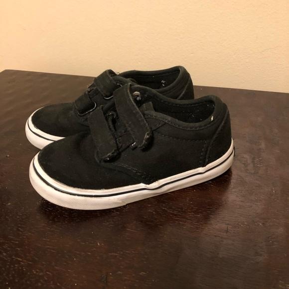 boys vans shoes size 8